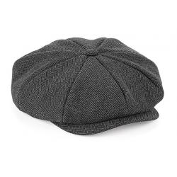 Bakerboy cap gris